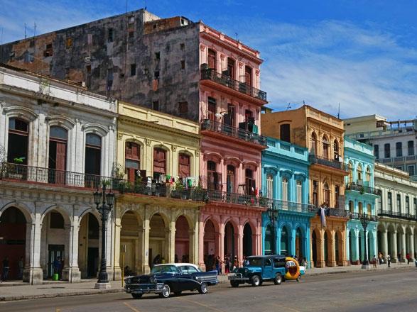 Cuba, Belice, Honduras, México