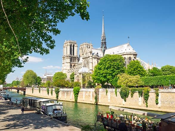 croisière Sena, Ródano, Saona - Sena, Ródano, Saona : París y la Costa de Normandía (SEN)