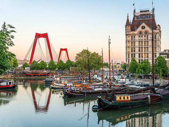 croisière Europa del Norte / Fiordos : Rotterdam y Hamburgo