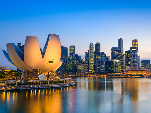 croisière Asia : Singapur, Malasia, Tailandia