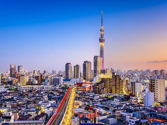croisière Asia : Japón, Corea del Sur