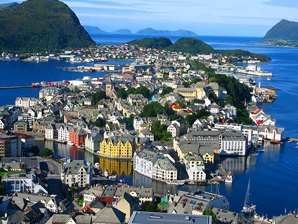 Norvège (Alesund)