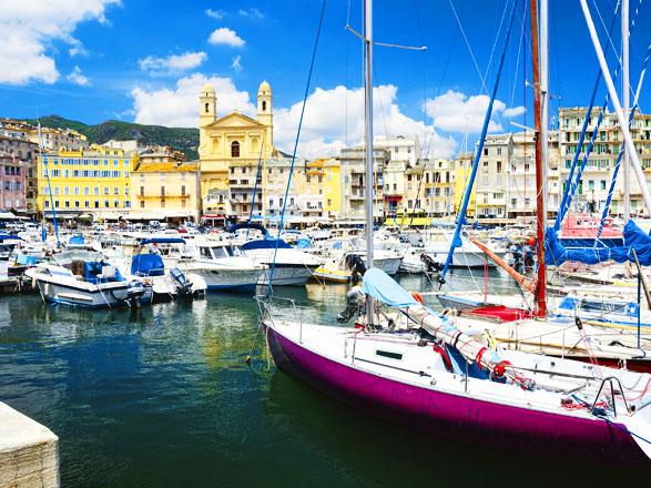 Croisière escale à Bastia (France)