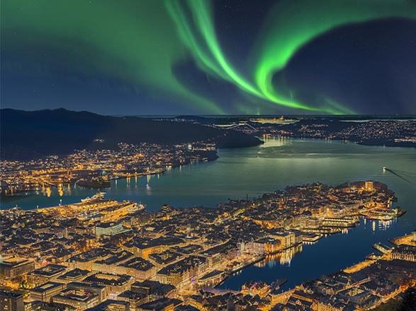 croisière Fjords - Fjords : Voyage Classique aller-retour Bergen–Kirkenes–Bergen