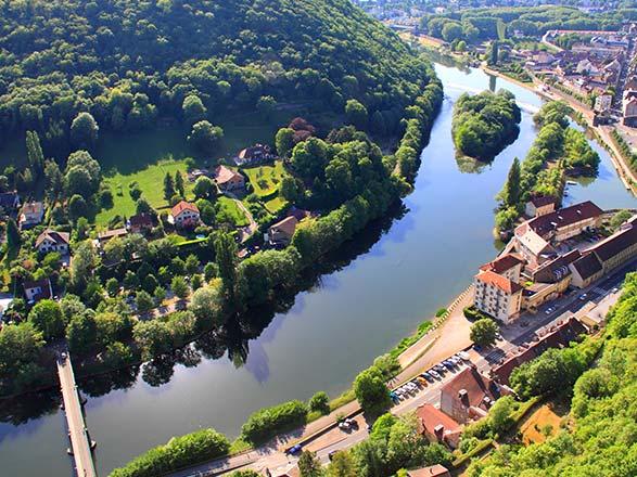croisière Rhône Saône - Rhône Saône : La vallée du Doubs, au coeur d'un patrimoine naturel et architectural (BCM)