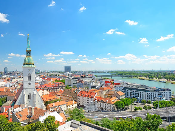 Vienne - Budapest (Hongrie)