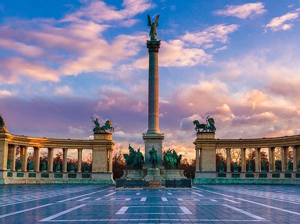 croisière Danube - Danube : Le beau Danube Bleu : Budapest, Bratislava, Vienne, Melk, Passau (BUM)