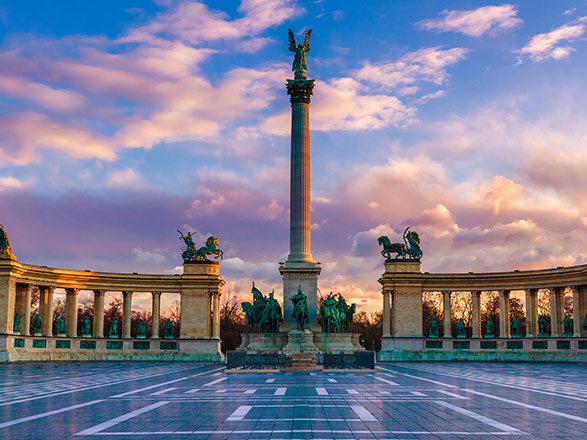 Croisière Le beau Danube Bleu : Budapest, Bratislava, Vienne, Melk, Passau (BUM)