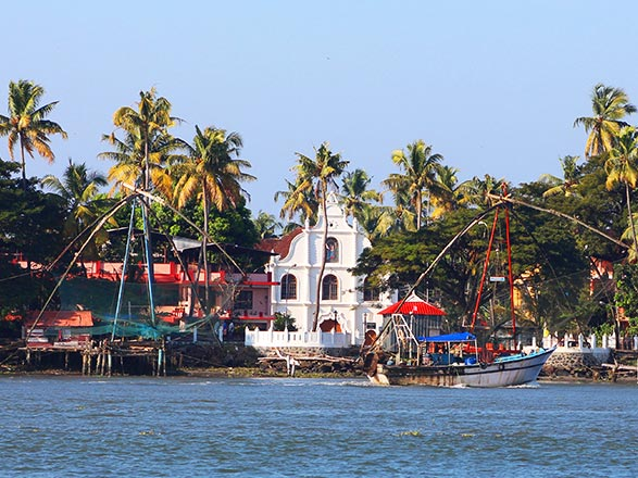 Croisière Cochin(Inde)