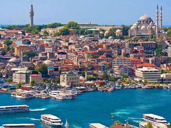 Croisière Istanbul à Jerusalem : Turquie, Iles grecques, Chypres, Israël