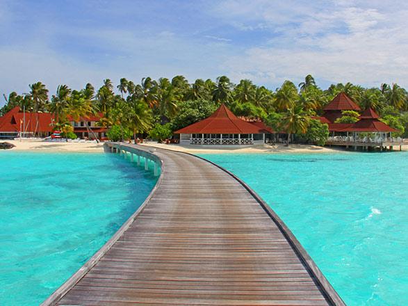 Les couleurs d'Inde : Maldives & Inde - Vols inclus