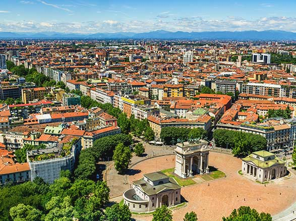 croisière Pô (Italie) - Pô (Italie) : Milan, le Lac de Côme et Croisière de Mantoue à Venise (MMV_PP)