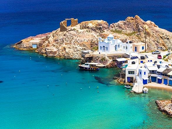 Iles grecques (Milos)