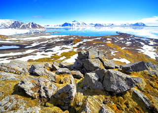 Baie de la Madeleine, la côte nord-ouest, Moffen et 80° de latitude Nord