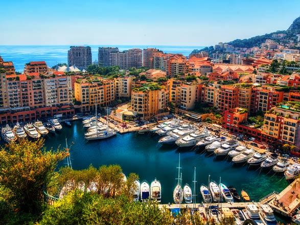 Croisière Monte-Carlo/Rome : Monaco, St Tropez, Corse, Ile d'Elbe...