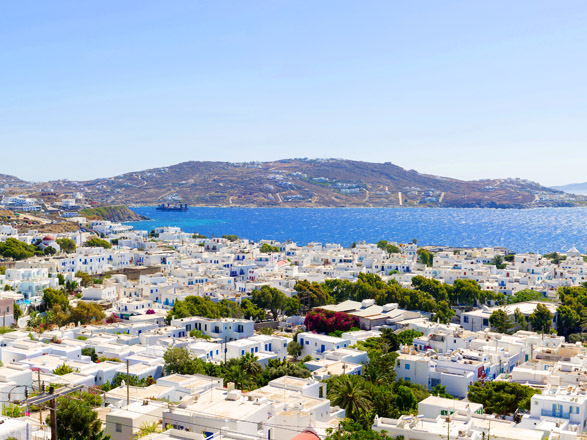 Croisière escale à Mykonos (Grèce)