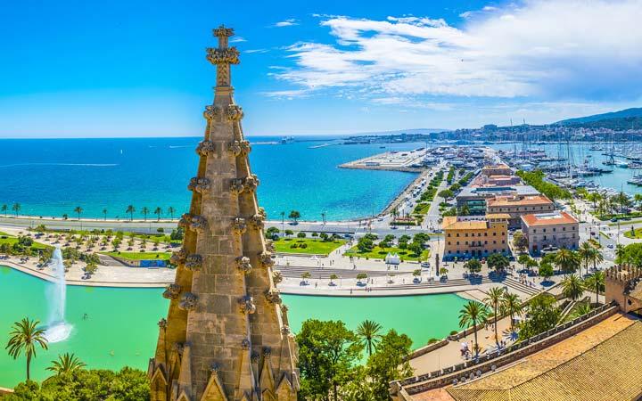 croisière Méditerranée : Italie, Baléares, Espagne