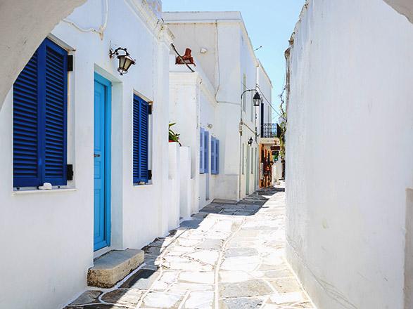 Croisière escale à Paros (Grèce)
