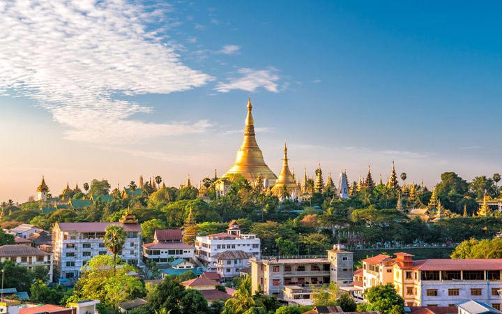 Croisière Rangoon