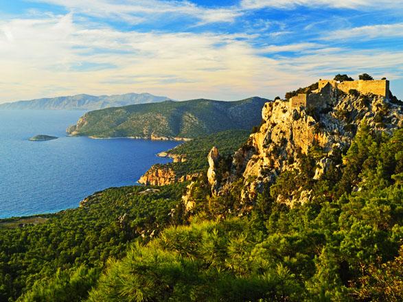 Croisière escale à Rhodes (Grèce)