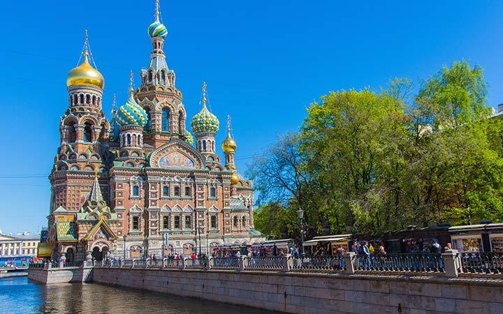 Croisière Saint Petersbourg