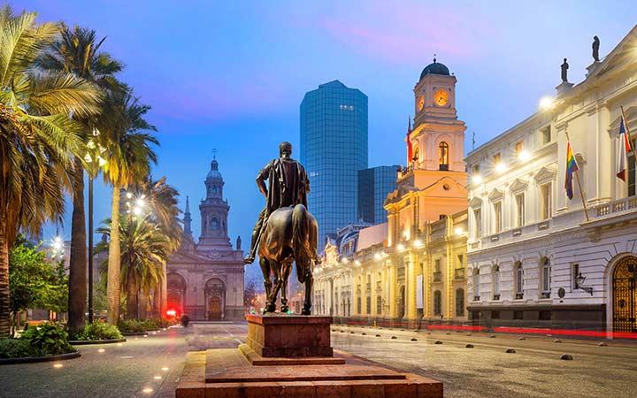 Croisière Santiago du Chili