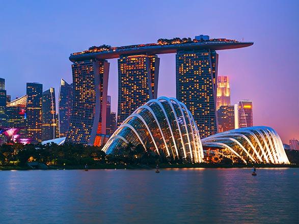 Croisière Singapour, Malaisie, Thaïlande