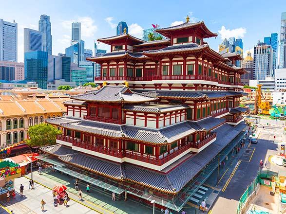 Croisière Singapour, Thaïlande, Malaisie