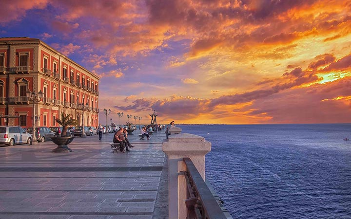 croisière Méditerranée : Sicile & Italie