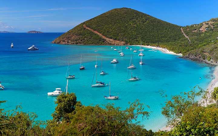 Croisière Tortola
