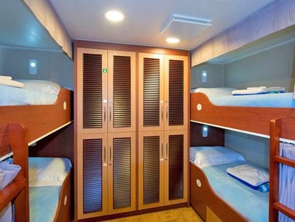 photo cabine ab Aranui 5 - Cabine intérieure