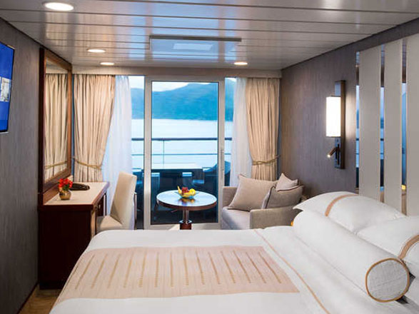Photo cabine Azamara Pursuit  - Cabine balcon