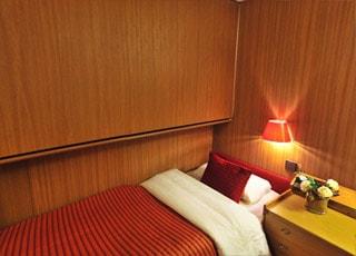 Photo cabine Bleu de France  - Cabine intérieure