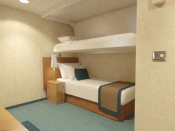 photo cabine ab Carnival Horizon - Cabine intérieure