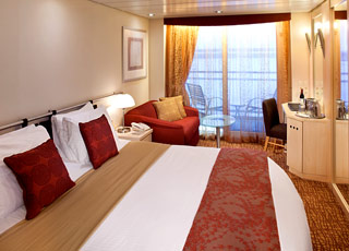 Photo cabine Celebrity Constellation  - Cabine balcon