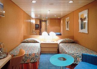 photo cabine ab Celebrity Infinity  - Cabine intérieure