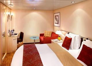 photo cabine ab Celebrity Millennium - Cabine intérieure