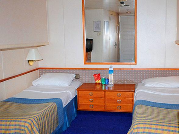 photo cabine ab Celestyal Crystal - Cabine intérieure