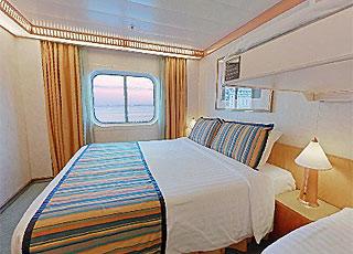 Photo cabine Costa Atlantica  - Cabine extérieure