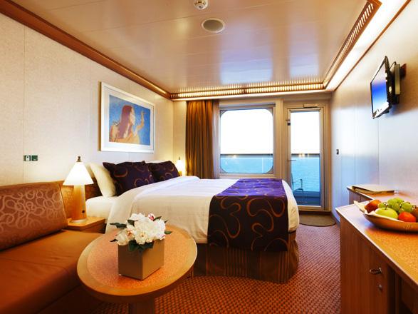 Photo cabine Costa Favolosa  - Cabine avec balcon