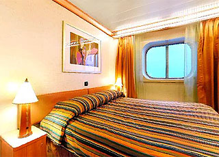 Photo cabine Costa Fortuna  - Cabine extérieure