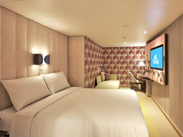 photo cabine ab Costa Smeralda - Cabine intérieure