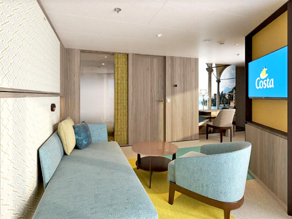 Photo cabine Costa Smeralda  - Cabine Suite