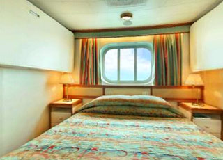 Photo cabine Crown Princess  - Cabine extérieure