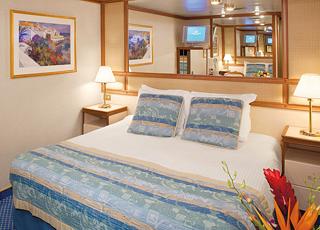 photo cabine ab Island Princess - Cabine intérieure