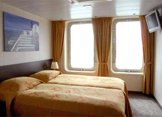 Photo cabine La belle de l'Adriatique  - Cabine extérieure