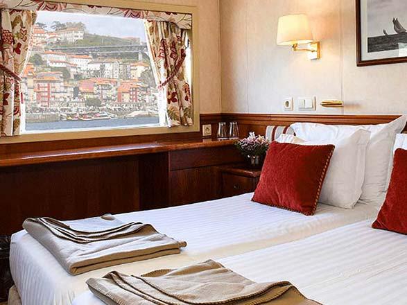 photo cabine ab M/S Douro Prince  - Cabine avec balcon