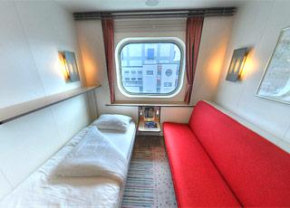 Photo cabine M/S Fram  - Cabine extérieure