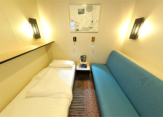 Photo cabine M/S Fram  - Cabine intérieure