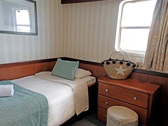 Photo cabine M/Y Pegasos  - Cabine extérieure